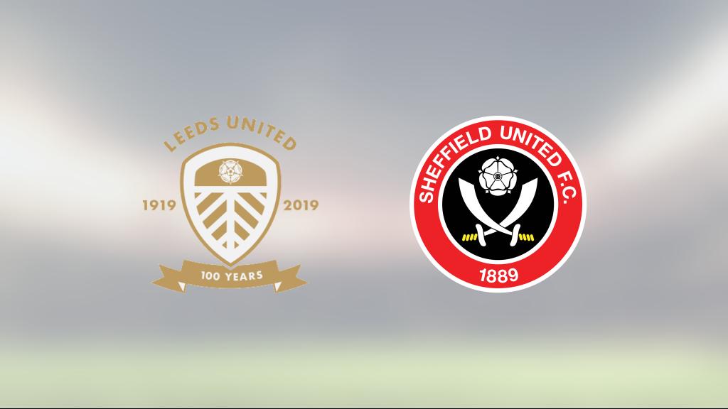 Leeds vann hemma mot Sheffield United