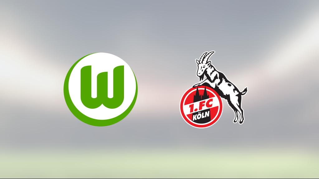 Josip Brekalo avgjorde när Wolfsburg sänkte FC Köln