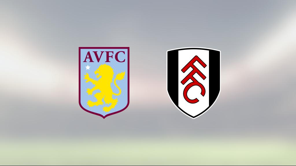 Aston Villa slog Fulham efter Trezeguets dubbel