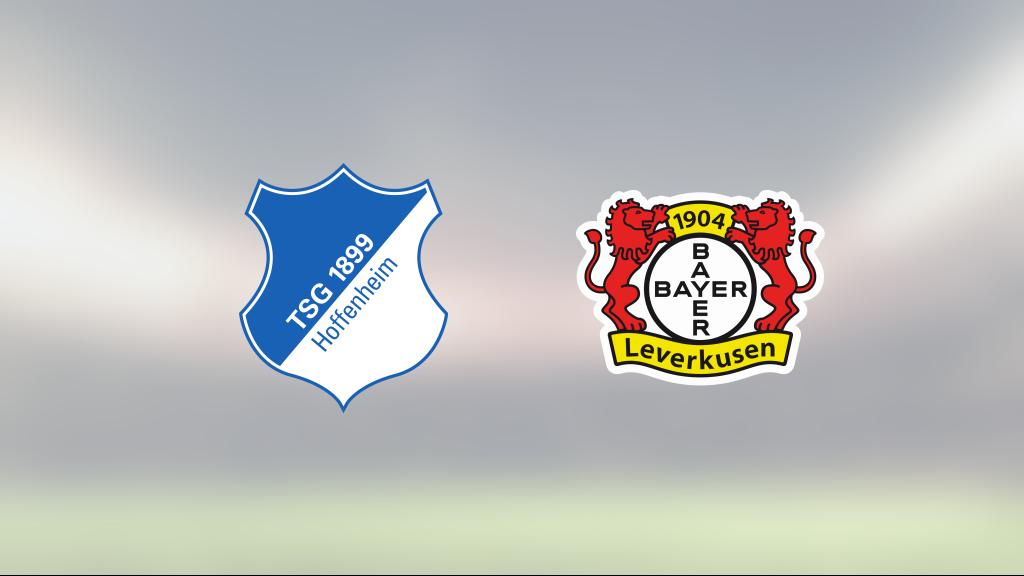 Mållös match när Hoffenheim mötte Bayer Leverkusen