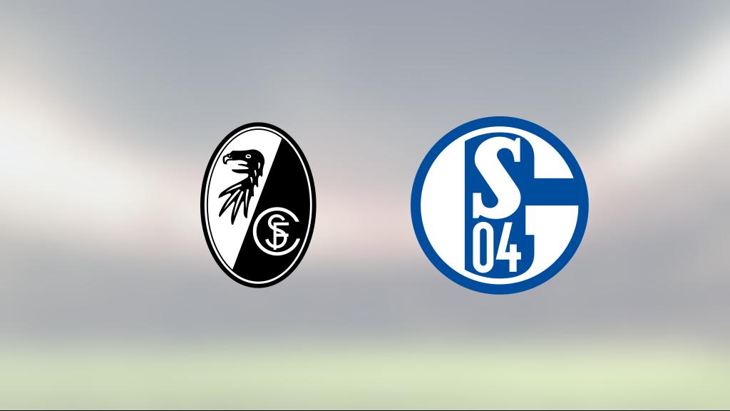 Christian Günter i målform när Freiburg vann mot Schalke 04