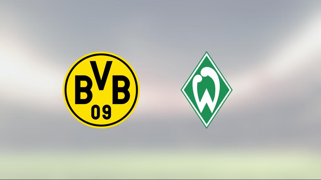 Borussia Dortmund slog Werder Bremen efter Erling Hålands dubbel