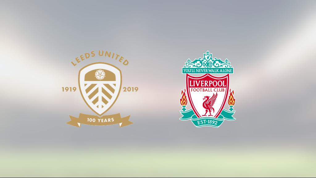 Diego Llorente räddade poäng när Leeds kryssade mot Liverpool