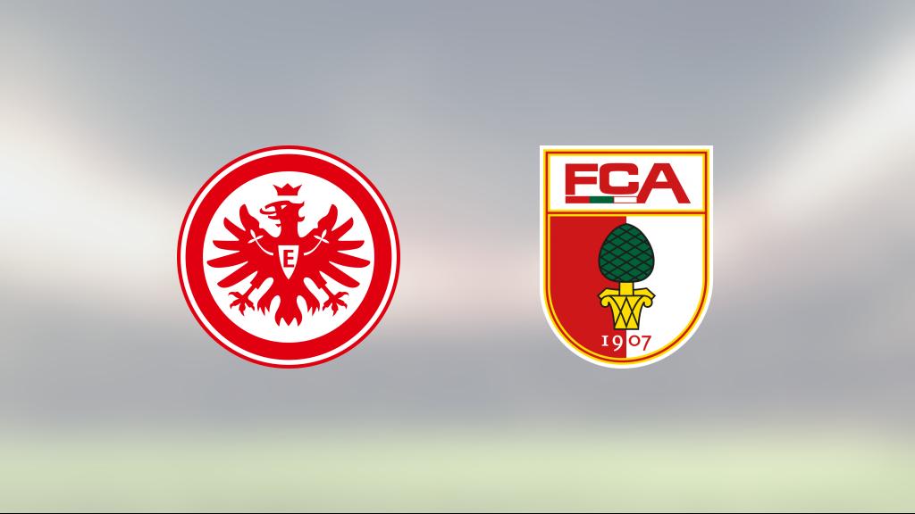 Martin Hinteregger och Andre Silva matchvinnare när Eintracht Frankfurt vann mot Augsburg