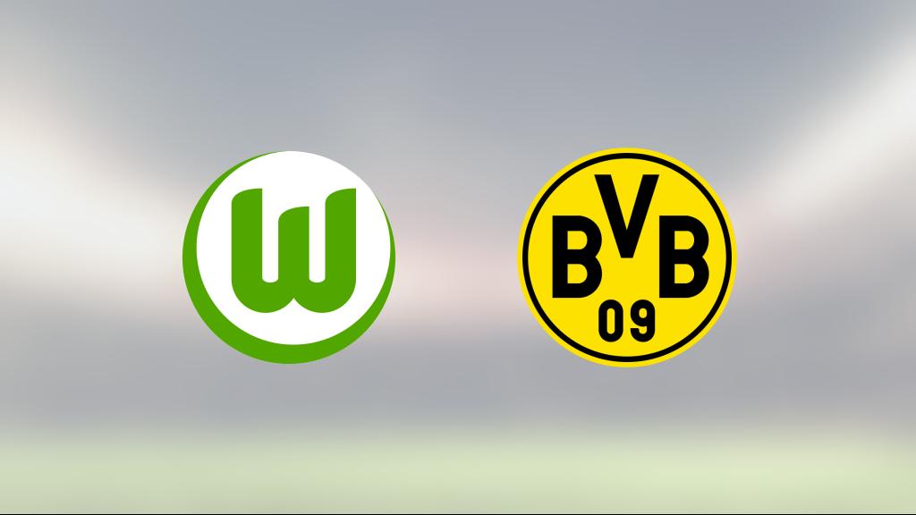 Segerraden förlängd för Borussia Dortmund – besegrade Wolfsburg