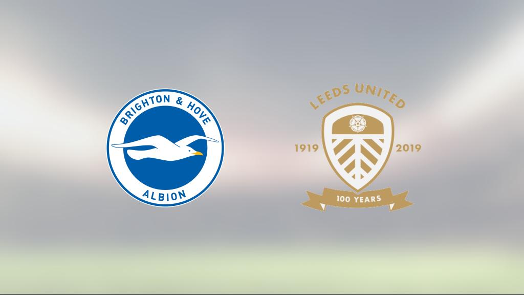 Pascal Gross och Danny Welbeck matchvinnare när Brighton vann mot Leeds