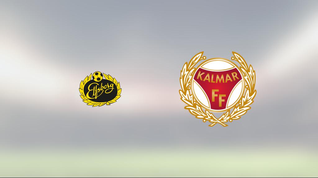 Kalmar FF lyfte sig i andra och fixade kryss borta mot Elfsborg