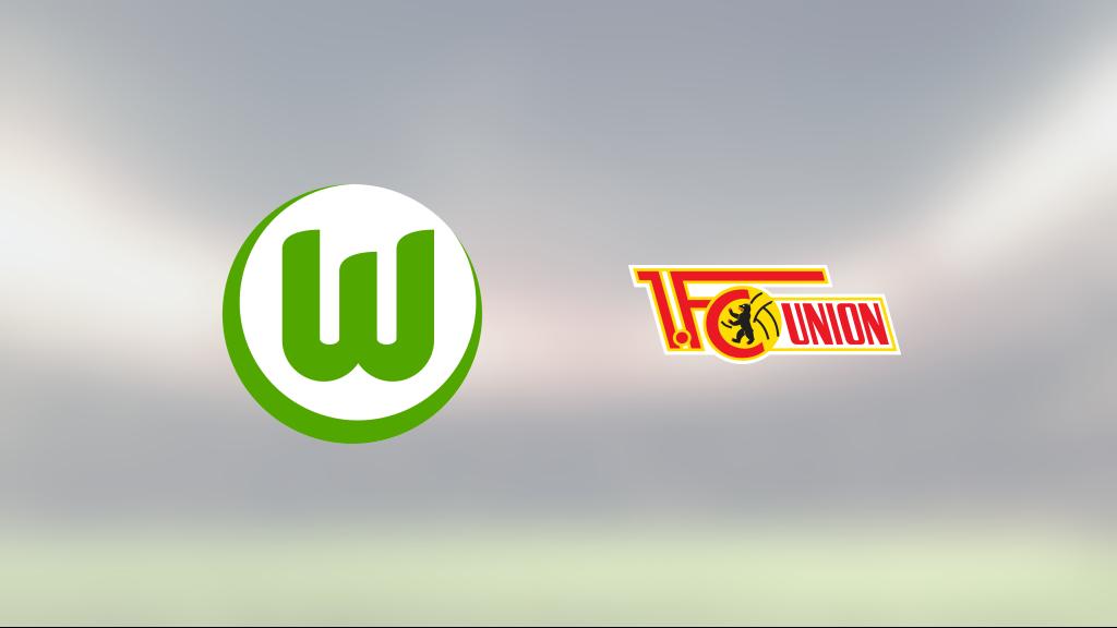 Wolfsburg segrade mot Union Berlin på hemmaplan