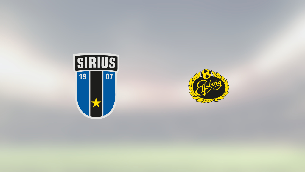 Elfsborgs Alexander Bernhardsson och Marokhy Ndione sänkte Sirius