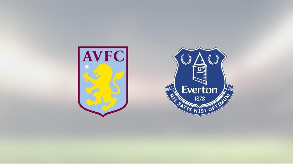 Mållöst för Aston Villa och Everton på Villa Park