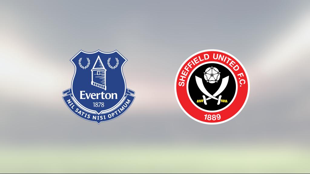 Daniel Jebbison målskytt när Sheffield United sänkte Everton