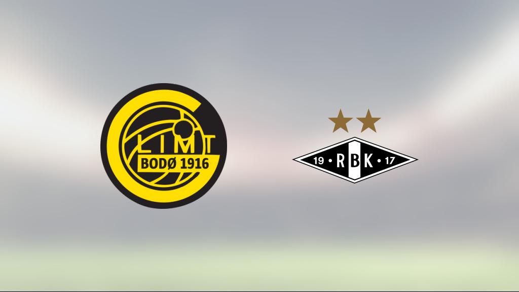 Delad pott för Bodö/Glimt och Rosenborg