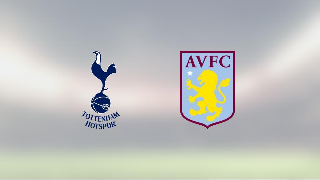 Seger för Aston Villa mot Tottenham efter tidigt avgörande