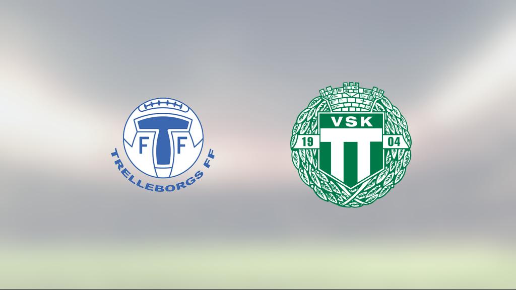 Viktor Prodell matchhjälte för VSK borta mot Trelleborg
