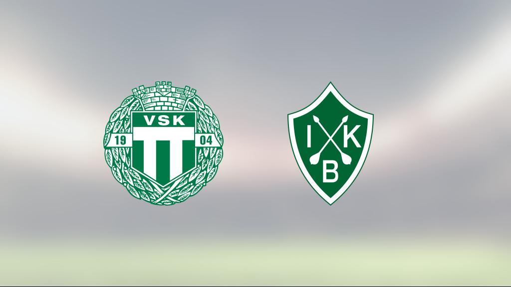 VSK och Brage delade på poängen efter 2-2