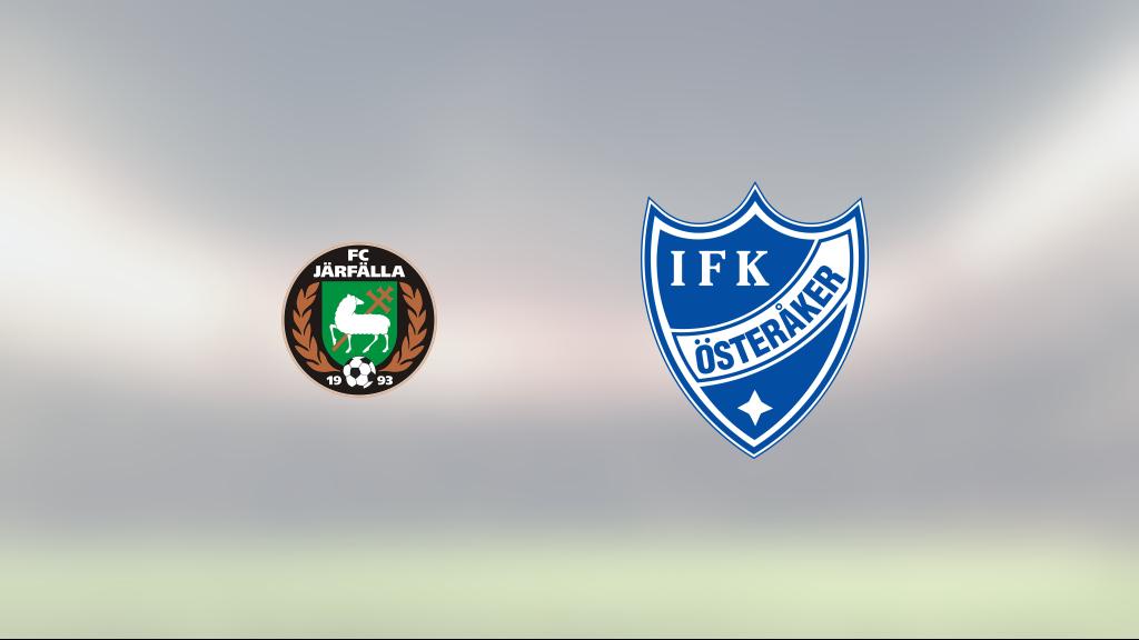 Anders Lindberg och Martin Rosqvist målskyttar när Österåker förlorade