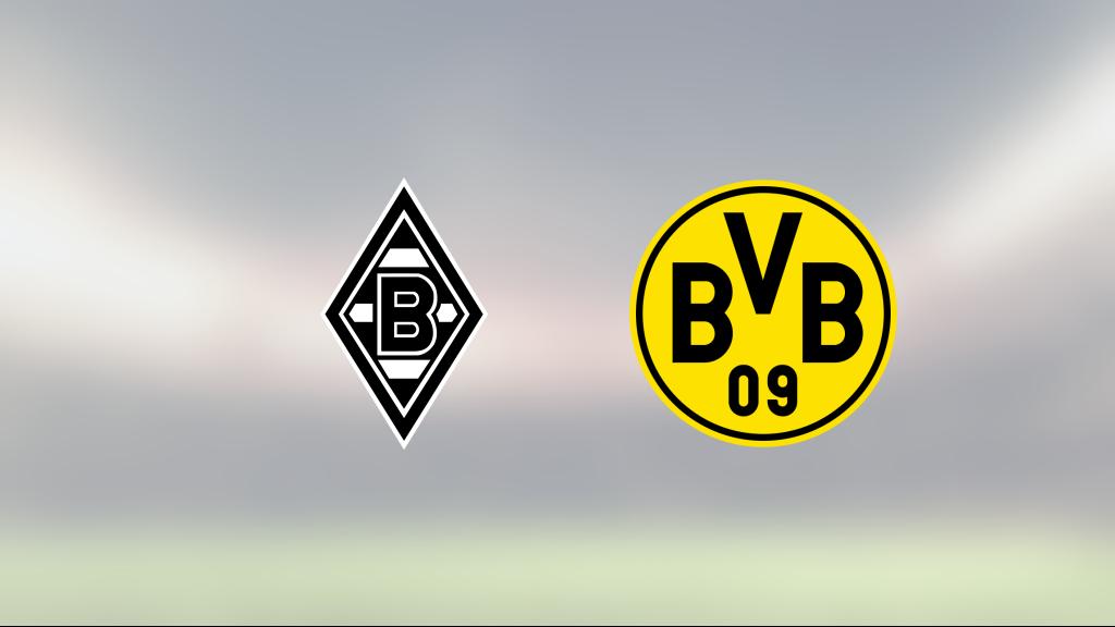 Denis Zakaria matchhjälte för Mönchengladbach hemma mot Borussia Dortmund