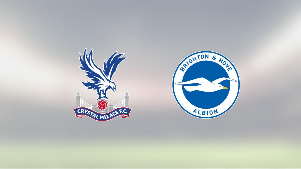 Neal Maupay räddade poäng när Brighton kryssade mot Crystal Palace