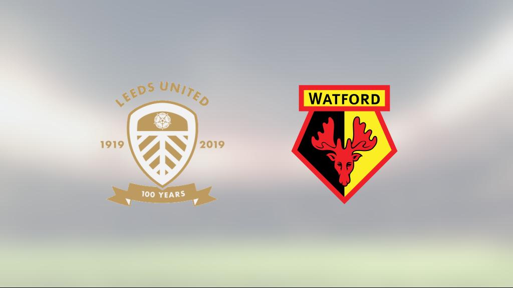 1-0 mot Watford innebär första segern för Leeds