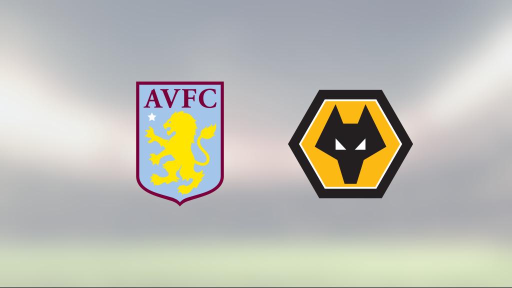 Wolverhampton vann mot Aston Villa på Villa Park